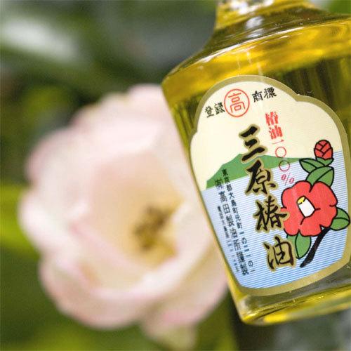 *伊豆大島限定発売の「生椿油」