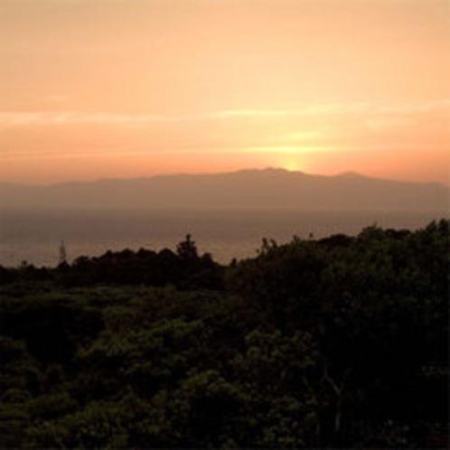 *マシオから眺める美しい夕日