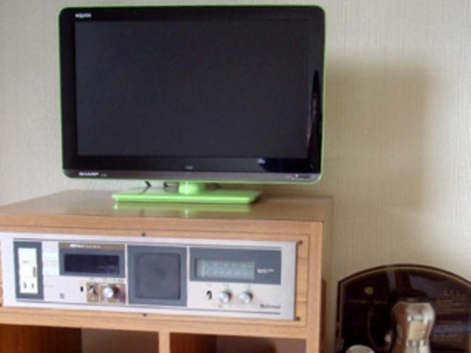 テレビ周辺