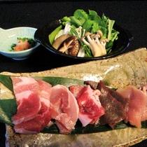 宿泊プラン:ジビエ好きの方にはおすすめ~源頼朝さんも好んだ巻き狩り鍋プラン
