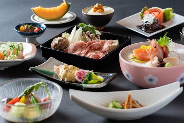 【7〜8月グレードアップ夕食】夕食はちょっと贅沢に!/夕食特別和食膳