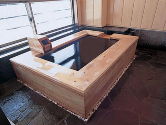 客室露天風呂(和風タイプ)