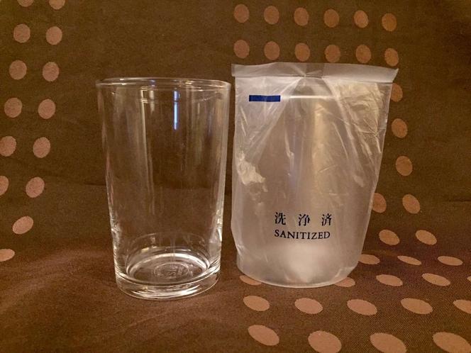 【全室完備】強化グラス【冷蔵庫内にご用意しております。】