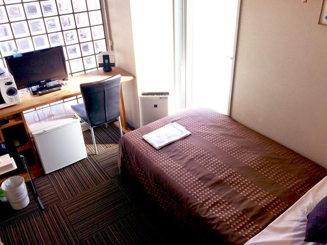 シングルルームです。