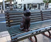 ◇湯本駅前の観光スポット!黒川晃彦氏作成のブロンズ像(1)◇