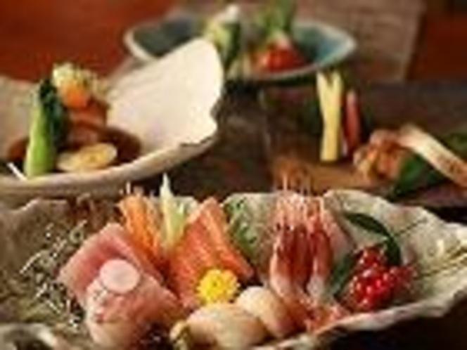 夜の営業では一品料理も数多くご用意してお待ちしています。(※夜営業定休日有)