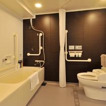 客室バスルーム(バリアフリー)
