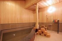 リニューアルした大浴場
