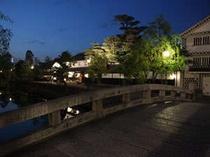 宵を迎えた倉敷美観地区