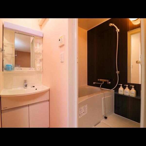 〜 別館twin room 〜 各室、洗面とバスが独立タイプです