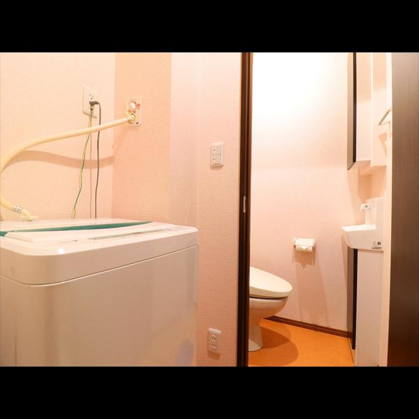 〜 別館Single room 〜 客室に洗濯機を設備しております