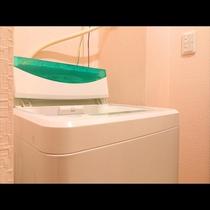 ~ 別館Single room ~ 客室に洗濯機を設備しております!