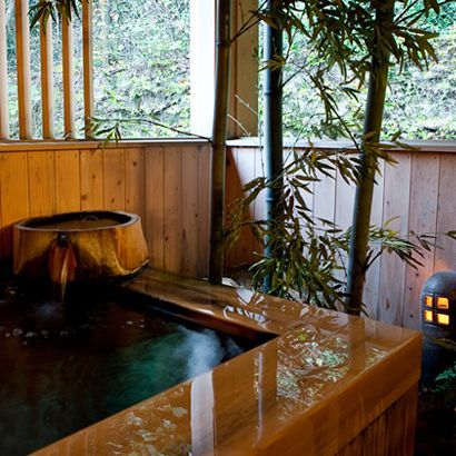 檜の貸切風呂 『観月』