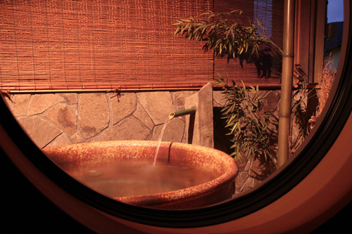 半露天風呂付き客室 風呂 5