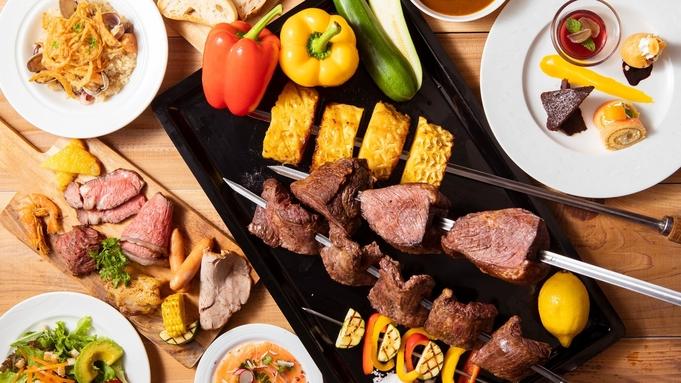<平日限定>【いろいろなお肉が食べ放題!】ルオーレ シュラスコディナー付き