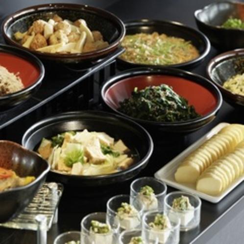和洋ビュッフェ朝食(和惣菜)