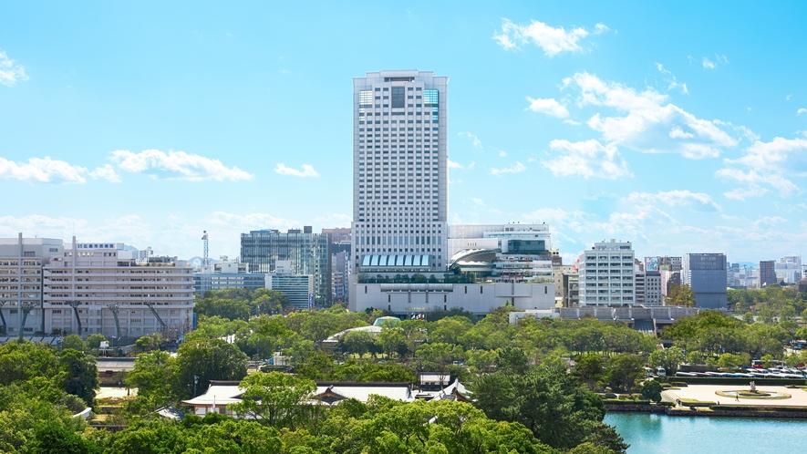 リーガロイヤルホテル広島 外観