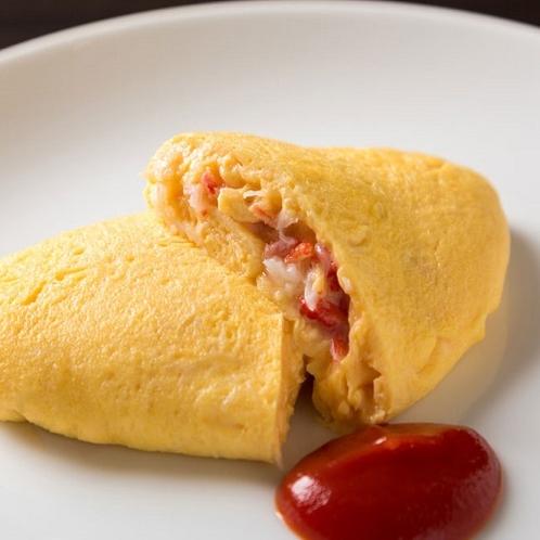 和洋ビュッフェ朝食(オムレツ イメージ)