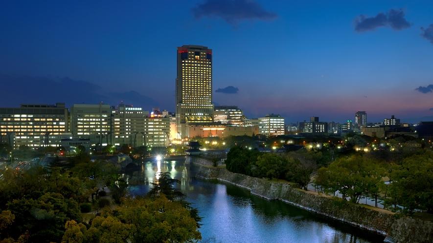 リーガロイヤルホテル広島(外観)