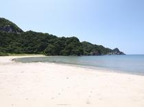 浜坂のおすすめビーチ!芦屋荘から車で約10分。「居組県民サンビーチ」
