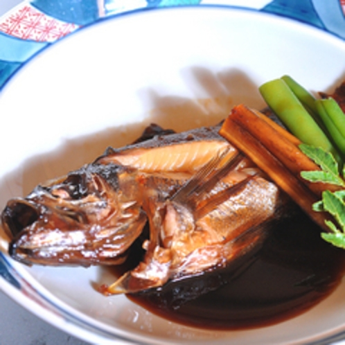 煮物の一例(メバル)