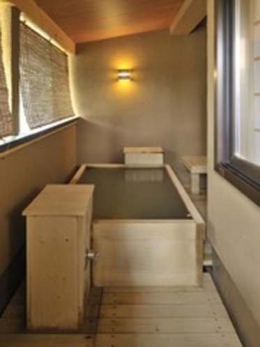 本館 客室露天風呂 一例