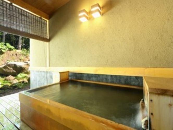 離れ棟 客室露天風呂 一例