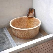 七宝の間 つぼ湯