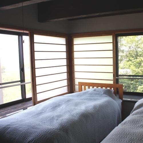 【bochi bochi】2F寝室上質なファブリックの寝室(一例)