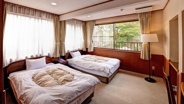 2面採光の角部屋<和洋室>和室6畳+ベッドルーム(禁煙)