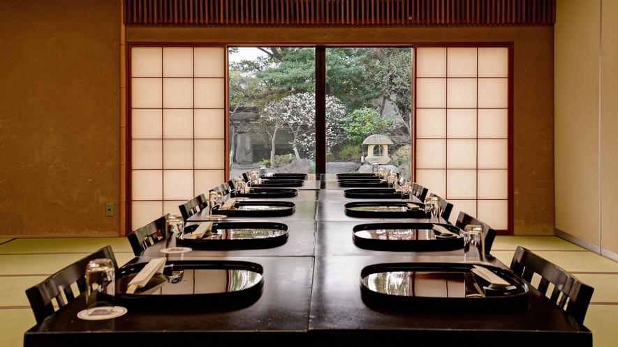 *【会食】<中広間>着座席:4~25名様/椅子席:4~20名様