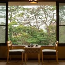 *【和室2間(10畳+6畳)】2階/客間からの風景