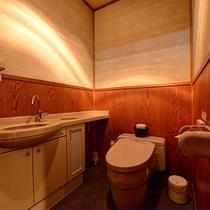 *【庭付き和室(14畳)】1階/お手洗い ※一例