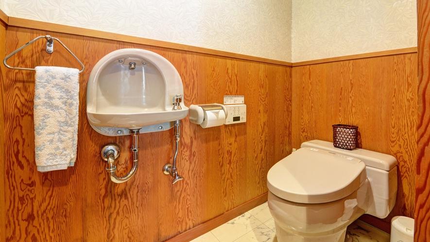 *【和洋室(和室6畳+ベッドルーム)】2階/お手洗い