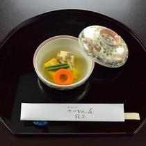 *【ご夕食一例・炊き合わせ】