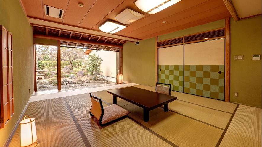 *【庭付き和室(14畳)】1階/客間 ※一例