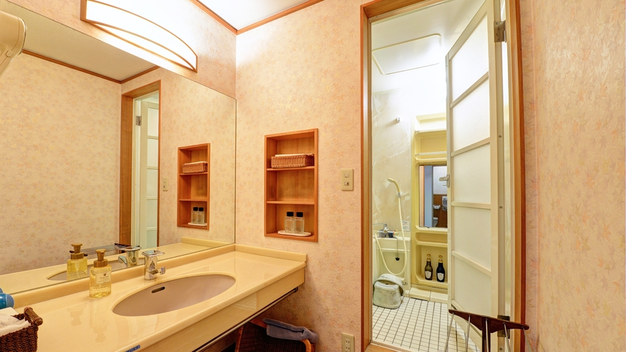 *【和室(10畳)】1、2階/お風呂+洗面所 ※一例