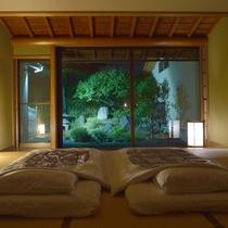 *【庭付き和室一例】落ち着いた雰囲気の和室です。