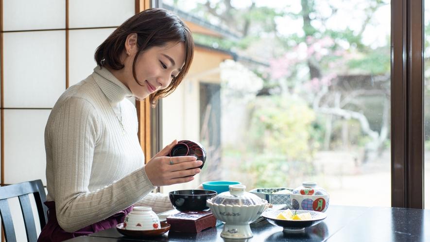 *【ご朝食】