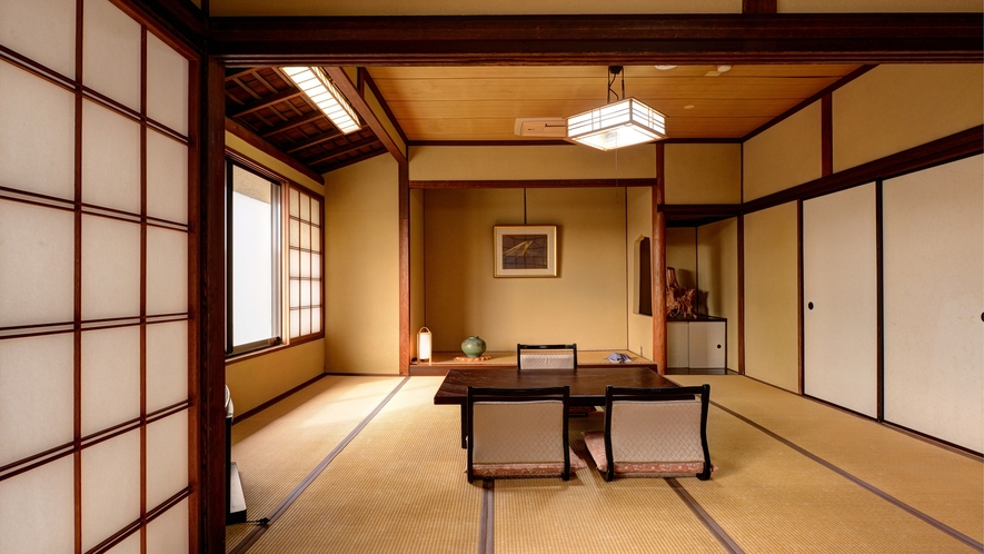 *【和室2間(10畳+6畳)】2階/客間
