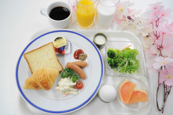 【朝食付き】駅近!ワンプレート朝食付きプラン