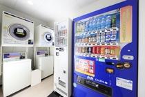 コインランドリー&自動販売機コーナー