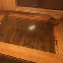 【檜温泉付和洋室】