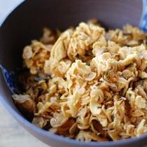 【朝食】自家製お漬物・ぶらぶら漬け