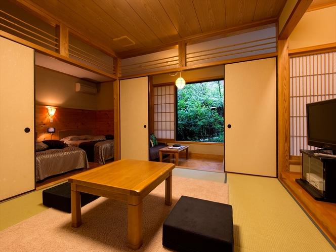 檜温泉付き和洋室