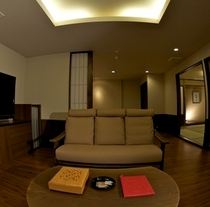 愛犬と泊まれる部屋(和洋室)