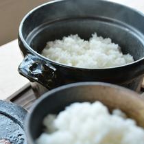 たんとう米の炊きたて釜ごはん