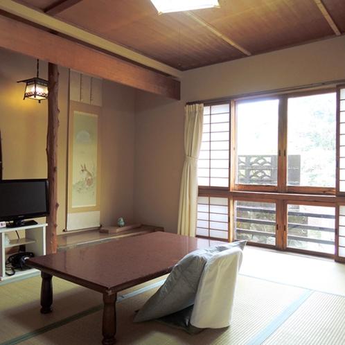 【部屋一例】和室6畳(高千穂)/純和風のゆっくり寛げるお部屋です。