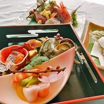 【旬彩会席】前菜一例 ※写真イメージ
