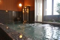 北海道二股温泉の炭酸カルシウム人工温泉